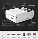 Мини-проектор HD TD90 Native 1280 x 720P LED Версия для Android WiFi Кинотеатр 3D, фото 2