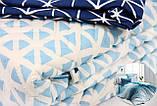 Комплект постельного белья LIGHTHOUSE 4 сезона бязь голд BLAZE синий 200*220/2*50*70, фото 5