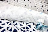 Комплект постельного белья LIGHTHOUSE 4 сезона бязь голд BLAZE синий 200*220/2*50*70, фото 8