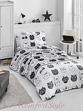 Комплект постельного белья LIGHTHOUSE 4 сезона ranforce LOVELY CATS 160*220/2*50*70