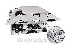 Комплект постільної білизни LIGHTHOUSE 4 сезону ranforce LOVELY CATS 200*220/2*50*70