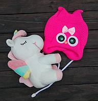 Дитяча шапка для новонароджених (PINK ICE market)