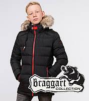 Braggart Kids | Куртка детская зимняя 68255 черная