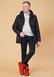 Braggart Kids   Детская куртка на зиму 65122 черная, фото 3