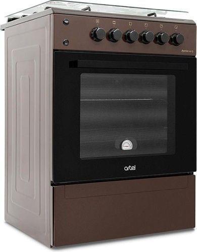 Плита газовая ARTEL Apetito 02-G brown