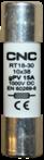 Цилиндрические предохранители типа RT18-30 и PV-63L (DC постоянный ток) и держатели — CNC™