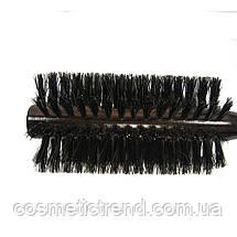 Щетка-брашинг для волос деревянная с натуральной щетиной  Salon Professional 2272fm, фото 3