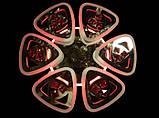 Светодиодная люстра с подсветкой 6013/6 CH, фото 4