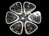 Светодиодная люстра с подсветкой 6013/6 CH, фото 2