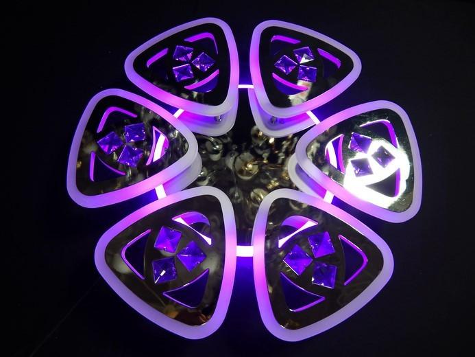Светодиодная люстра с подсветкой 6013/6 CH