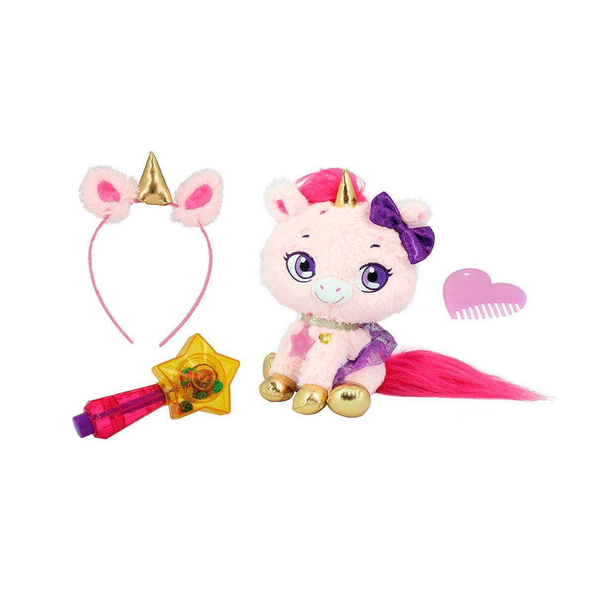 Мягкая игрушка Shimmer stars Единорог Твинки с аксессуарами 28 см