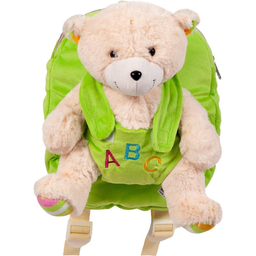 Дитячий Рюкзак для дитячого садка з м'якою іграшкою Ведмідь