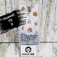 Переливається чохол для Huawei Y5 II (КУН-U29) Біла Ромашка