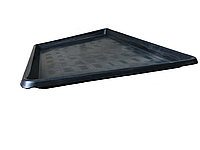 Поддон пластиковый Н-Т 60х90,2х4 чёрный