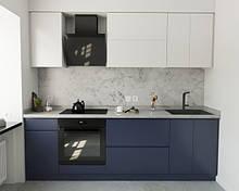 """Модульні кухні """"Пластик"""" з фасадами з пластику на основі МДФ"""