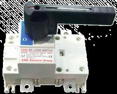 Вимикачі-роз'єднувачі серії YCHGL, перекидні, DC постійного струму — CNC™