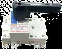 Выключатель-разъединитель перекидной YCHGL-250, 160А, 2Р, 1000V DС, постоянный ток, CNC