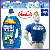 Гель для стирки Хенкель Weißer Riese Kruft Gel Henkel Германия 5л 100 стирок