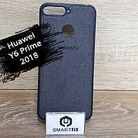 Силіконовий фактурний чохол для Huawei Y6 Prime (2018) (ATU-L31), фото 1