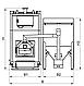 Пеллетный комбинированный котел Kronas Prom Pellets 50 кВт с автоматической и ручной подачей топлива, фото 4