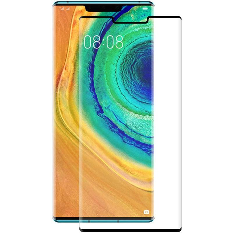 Защитное стекло PowerPlant для Huawei Mate 30 Pro Black Full Screen (GL607297)