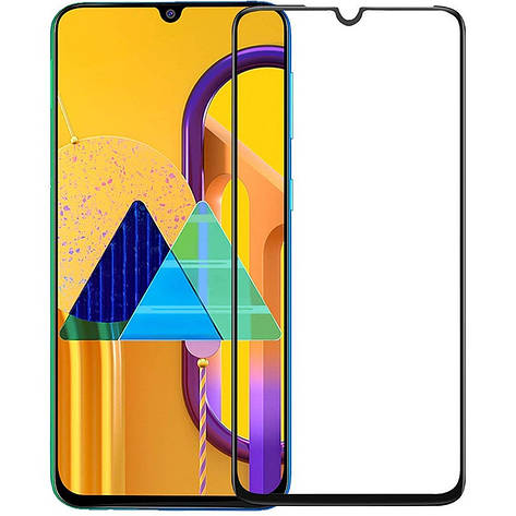 Захисне скло PowerPlant для Samsung Galaxy M31 SM-M315 Black Full Screen (GL607860), фото 2