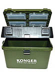 Ящик для зимней рыбалки konger max, фото 3