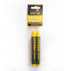 Мелки (желтые) УНИВЕРСАЛЬНЫЕ, (2шт) KREYDA