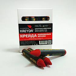 Маркер восковой маркировочный для любой поверхности KREYDA, красные