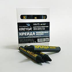 Маркер восковой маркировочный для любой поверхности KREYDA, черные