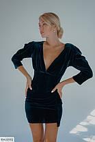 Платье бархат 165105, фото 3