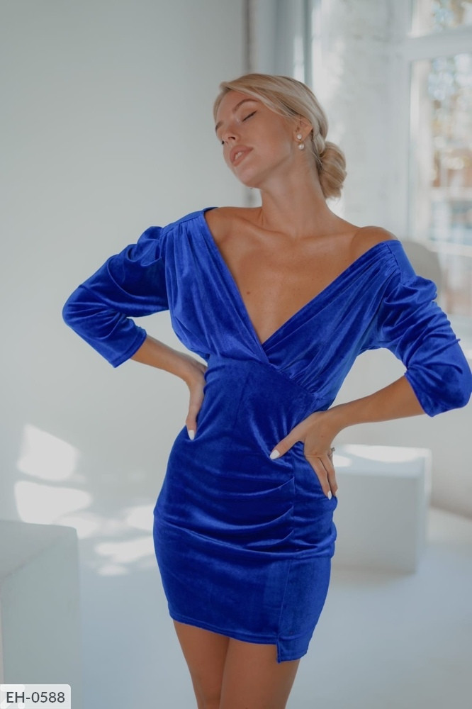 Платье бархат 165105