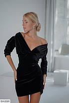 Сукня оксамит 165105, фото 3