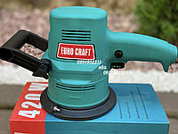 Эксцентриковая шлифмашина Euro Craft RS204, фото 1