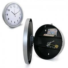 Настенные пластиковые часы-сейф HLV SAFE CLOCK 7031