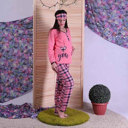 Женская теплая пижама с маской, фото 2