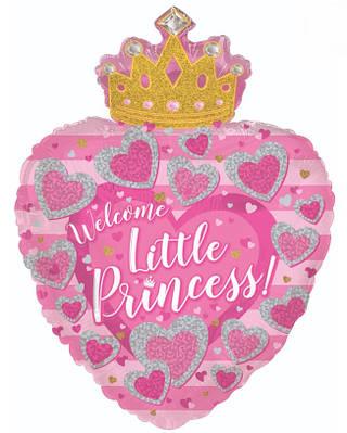 """CTI 24"""" С Днём Рождения Маленькая Принцесса"""
