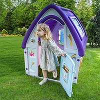 Дитячий ігровий будиночок, 123*102*121 см, пластик, 72-984