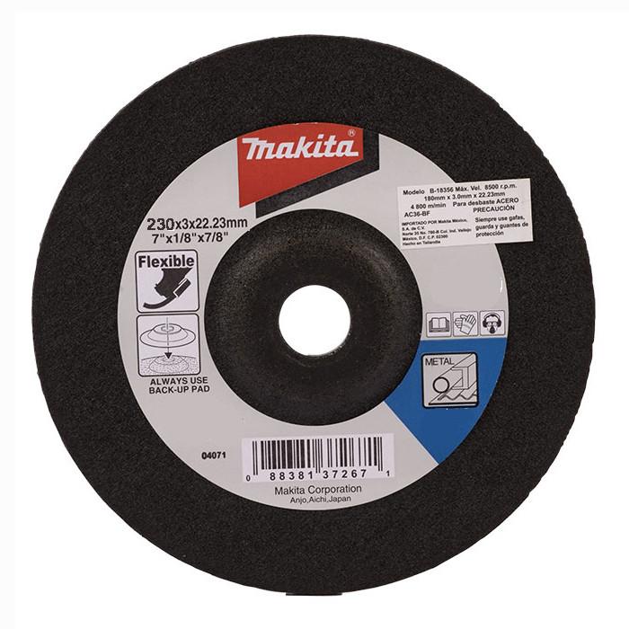 Гибкий шлифовальный круг по металлу 230 мм Makita (B-18384)