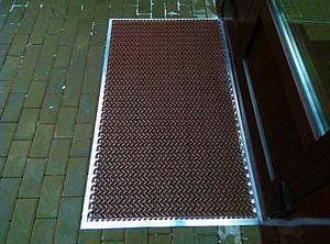 Универсальное модульное напольное покрытие Волна-15 коричневое