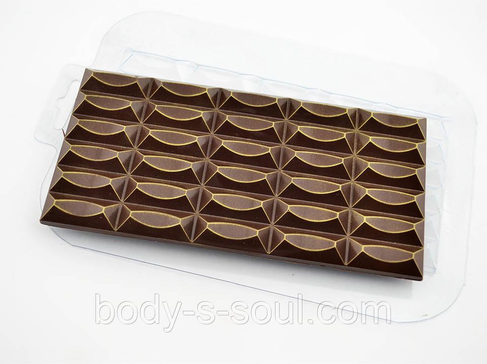 Пластиковая форма для шоколада Плитка 30