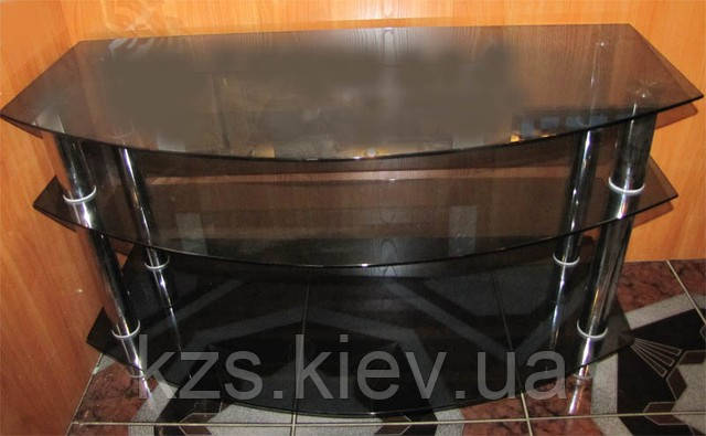Подставка под телевизор из стекла