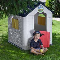 Детский игровой домик,97*105*119 см, пластик, M 5397-1