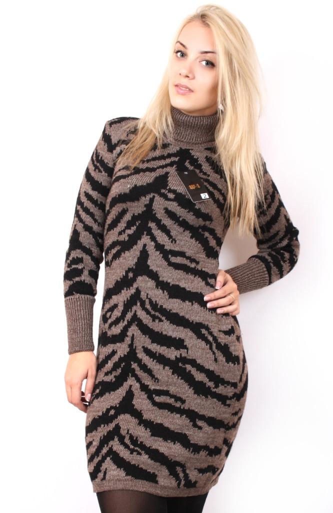 В'язане плаття великого розміру 599 р 48-58