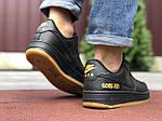 Мужские кроссовки Nike Air Force Gore-Tex (черные) 9787, фото 2