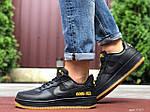 Мужские кроссовки Nike Air Force Gore-Tex (черные) 9787, фото 5