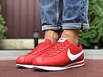 Мужские кроссовки Nike Cortez (красно-белые) 9793, фото 4