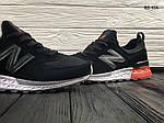 Мужские кроссовки New Balance 574 (черно/белые) KS 456, фото 2