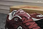 Мужские кроссовки New Balance 991 (бордовые) KS 1357, фото 6