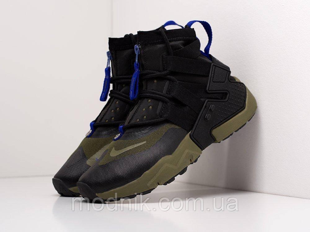 Мужские кроссовки Nike Air Huarache Gripp (зеленые) KS 1528
